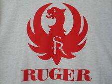 Ruger Logo Tee Shirt 4XL  SR Sturm  Pistol Rifle Hunting Target Shooting