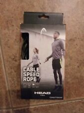 Head Fitness Head Fitness Cable Speed Rope 9 ft conditioning Adjustable New