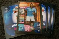 2019/20 Match Attax UEFA Soccer Cards - Lot of 20 cards incl Limited Edition