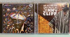Lot Jimmy Cliff-We All Are One: The Best of Jimmy Cliff CD + Reggae Greats Music