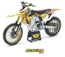 New-Ray Suzuki Diecast Motocrosses