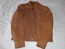HOGAN MENS LEATHER JACKET MADE IN ITALY RRP: £718.00
