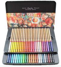 Marco Renoir Fine Art 24/36/48 Color Drawing Oil Base Non-toxic Pencil Tin Set