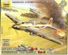 Zvezda 1/144 Ilyushin Il-2 model 1941 Sturmovik # 6125