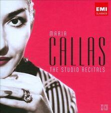 MARIA CALLAS: THE STUDIO RECORDINGS (NEW CD)