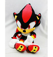 """Sega Sonic Supersonics Black Shadow Plush Backpack Tote 20"""" NEW with Tags!"""