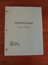 Twin Peaks Script Pilot Northwest Passage David Lynch Mark Frost Original RARE