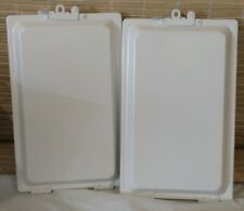DURABLE ALUMINUM MANIFESTO HOLDER/CLIPBOARD WHITE WITH INTERIOR SEAL LOT OF 2