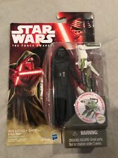 Star Wars The Force Awakens Kylo Ren 3.75 Inch Figure In Stock Retired Toy