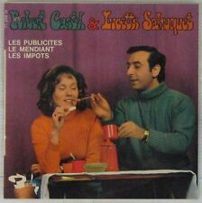 Robert Castel Lucette Sahuquet 45 tours Les publicités 1968