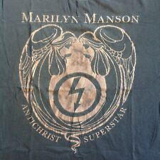 Vintage MARILYN MANSON 90s ANTICHRIST SUPERSTAR T-SHIRT ORIGINAL WONDERLAND tour