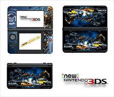 SKIN STICKER AUTOCOLLANT - NINTENDO NEW 3DS - REF 118 TRANSFORMERS