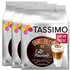 3 x Tassimo Latte Macchiato Bailey's   24 T Discs