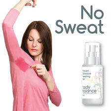 BODY BALANCE PREVENT EXCESSIVE SWEATING GEL STOP HYPERHIDROSIS NO SWEAT