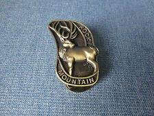 Custom Handmade Bronze Rocky Mountain Elk Foundation RMEF Hinged Money Clip