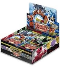 PRE ORDER  DRAGON BALL SUPER  UNIVERSAL ONSLAUGHT BOOSTER BOX FREE SHIPPING
