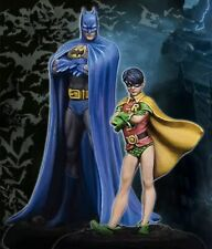 35mm Resin Figure Model Kit Batman & Robin SuperHero Unpainted Unassambled