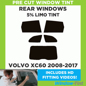 VOLVO XC60 2008-2014 5% LIMO REAR PRE CUT WINDOW TINT