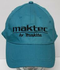 MAKTEC BY MAKITA Power Tool Drill Advertising TEAL BLACK Adjustable HAT CAP