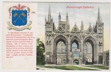 Cambridgeshire postcard - Peterborough Cathedral - P/U 1906