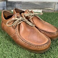 UK8 Base London 'Signal' Tan Leather Comfort Moccasin Casual Loafer - EU42