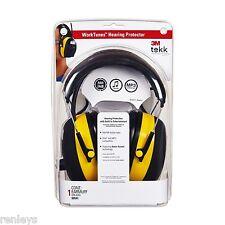 Safety 3M Tekk WorkTunes Digital Hearing Protection Protector Earmuff Mp3
