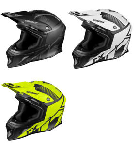 Castle X CX100 CARBON WRAP Off-Road Motorcycle Helmet (S - 3XL)