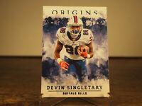 Devin Singletary 2020 Panini Origins Base Card 70 Buffalo Bills