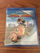 Shrink Wrap Sealed Walt Disney The Wild Blu-ray (Canadian) Free Shipping