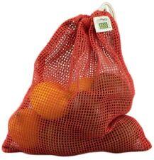 ECOBAGS® Organic Net Drawstring Bag Drawstring Produce Bag Medium Chili