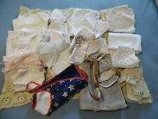 Vintage 24pc. Lot 1940's/60's Baby/Kids Clothes Blankets (Great For Dolls)