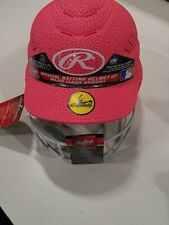 Rawlings Coolflo Highlighter Softball Helmet Face Pink One Size Fits 6 1/2-7 1/2