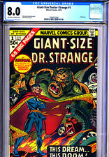 Giant-Size Dr. Strange #1 First Issue (1975, Marvel) OW to W Pages CGC 8.0, Rare