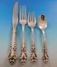 Spanish Baroque by Reed & Barton Sterling Silver Flatware Set Service 26 pcs