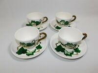 4 Vintage METLOX POPPYTRAIL CALIFORNIA IVY Cup and Saucer Sets