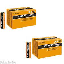 20 AA Duracell Industrial Alkaline Batteries MN1500 LR6