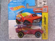 Hot Wheels 2015 #086/250 STING ROD II rouge HW HORS-PISTE étui L