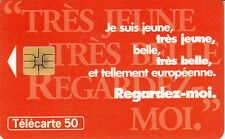 France télécarte 50 Regardez-moi.    ARTE