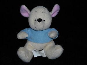 TESCO LITTLE ROO SOFT TOY WINNIE THE POOH COMFORTER