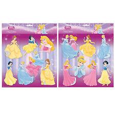 Disney Princess Pegatinas De Pared Decoración Adhesivo Decoración Dormitorio De Niñas De Arte 7 un.