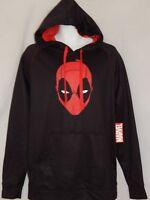 DEADPOOL mask Movie Marvel COMIC Book Hoodie Sweat Shirt Men's Jacket Large NEW