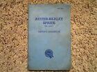 Austin-Healey Sprite MKI & II Models Factory Original Owners Manual AKD 1627D