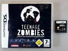 Nintendo DS Spiel TEENAGE ZOMBIES dt. PAL Ovp