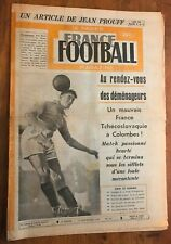 RARE FRANCE FOOTBALL n° 191 de 1949 FRANCE TCHECOSLOVAQUIE, OM RENNES LILLE....