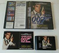 SEGA MEGA DRIVE - James Bond 007 The Duel Game Complete Domark Sega 1992 PAL