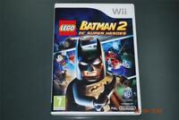 Lego Batman 2 DC Super Heroes Nintendo Wii UK PAL **FREE UK POSTAGE**