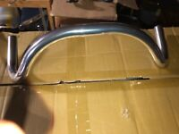 Major Taylor Handlebars for Racing bicycle Road Bike Track Bike. VERY COOL BARS