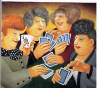 BERYL COOK ~ **A FULL HOUSE**  Signed LIMITED EDITION PRINT.