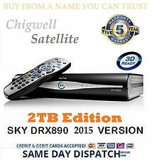 drx890 2 To Sky + Plus HD MODELE SKY HD Boîte 2 To améliorer Mint condition