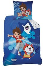 Yo-Kai Watch 044788 Gang Wende Bettwäsche, Baumwolle, blau, 135 x 200 80 x 80cm